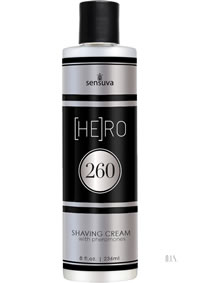 Hero 260 Pheromone Shave Cream 8oz