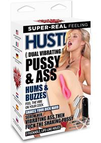 Hustler Memphis Monroe Dual Vib Pus  ass