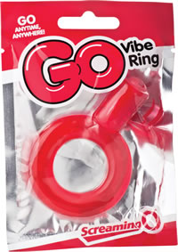 Go Vibe Ring Pop Red-indv