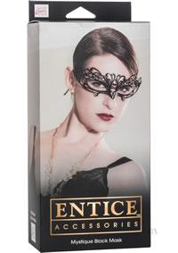 Entice Mystique Mask Black