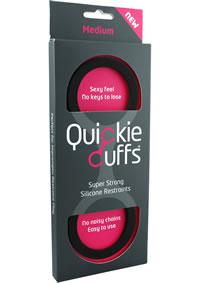 Quickie Cuffs Medium Black