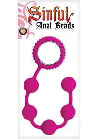 Sinful Anal Beads Pink