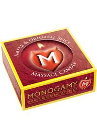 Monogamy Massage Candl Amber/spice(disc)