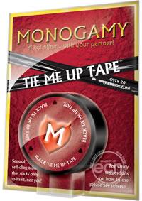 Monogamy Tie Me Up Tape Black (disc)