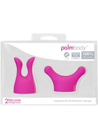 Palm Body Silicone Heads 2pk