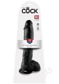 Kc 10 Cock W/balls Black