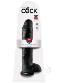 Kc 11 Cock W/balls Black
