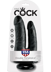 Kc Double Penetrator Black