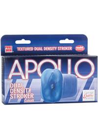 Apollo Dual Density Stroker Blue