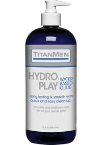 Titanmen Hydro Play Water Glide 32oz
