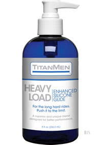 Titanmen Heavy Load Silicone Glide 8oz