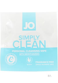 Jo Simply Clean Cleansing Wipes 24/disp