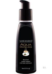Wicked Aqua Mocha Java Lube 2oz