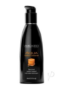 Wicked Aqua Salted Caramel Lube 2oz