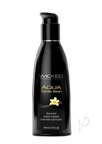 Wicked Aqua Vanilla Bean Lube 2oz
