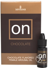 On For Her Arousal Chocolate 5ml Lg Box