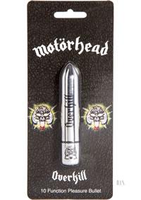 Motorhead Overkill Bullet Vibe Silver