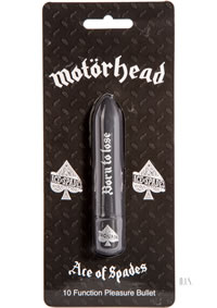 Motorhead Ace Of Spades Bullet Black