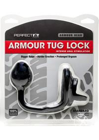 Armour Tug Lock Black