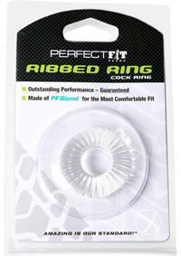 Ribbed Ring Clear