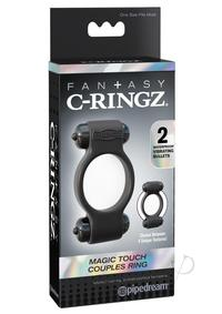 Fcr Magic Touch Couples Ring Black