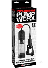 Pump Worx Ultimate Head Job Vibe Pump