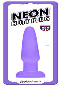 Neon Butt Plug Purple