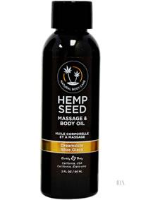 Hemp Massage Oil Dreamsicle 2oz