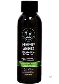 Hemp Massage Oil Naked In Woods 2oz