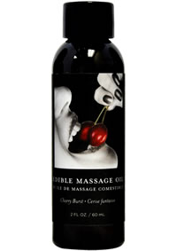 Edible Massage Oil Cherry 2oz