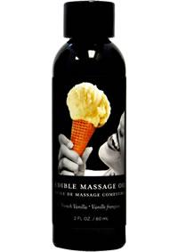 Edible Massage Oil Vanilla 2oz