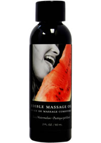 Edible Massage Oil Watermelon 2oz