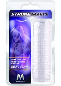 M For Men Stroke Sleeve Clear