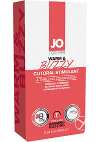 Warm and Buzzy Clitoral Cream 10ml