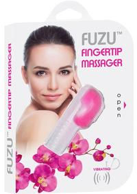 Fuzu Finger Massager Neon Pink