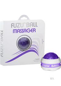 Fuzu Massager Ball Neon Purple 20/disp