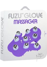Fuzu Glove Massager Neon Purple
