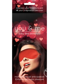 You and Me Blindfold Red