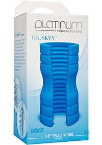 Platinum Truskyn Tru Stroke Rib Blue
