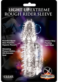 Wet Dreams Light Up Rough Rider Sleeve