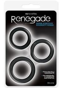 Renegade Diversity Rings Black(disc)