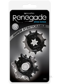 Renegade Spike Rings Black (disc)