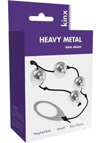 Heavy Metal Anal Beads Kinx