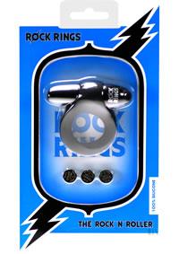 Rock Rings Rock N Roller Black (disc)
