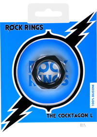 Rock Rings Cocktagon L Black (disc)