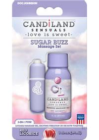 Candiland Sugar Buzz Set Red Licorice