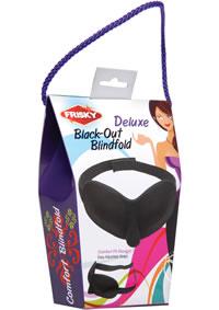 Frisky Deluxe Black-out Blindfold