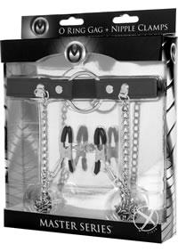 Ms Mstr Series Seize O-ring Gag/nip Clam