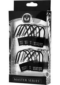 Ms Keyholder 10 Pack #ed Plastic Locks