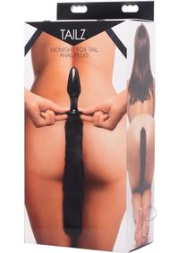 Tailz Midnight Fox Glass Tail Anal